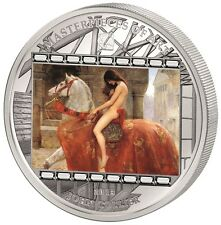 20$ 2013 Masterpieces of Art - John Collier - Lady Godiva im Etui - 3 OZ Silber