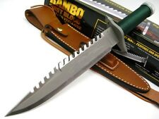 HCG RAMBO First Blood LIMITED SIGNATURE Edition Survival BOWIE Knife + Sheath!