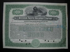 Rar: Missouri Pacific Railroad Company 1918