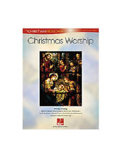 CHRISTMAS WORSHIP SONGBOOK PIANO VOCAL GUITAR 30 SONGS!