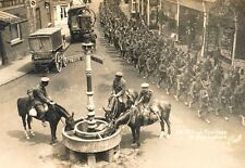 Irish Fusiliers Basingstoke British Army 1915 World War 1 Photo 7x5 Inch Reprint