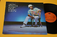 SONNY ROLLINS LP SUNNY DAYS STARRY NIGHTS TOP JAZZ ITALY 1984 EX+ AUDIOFILI