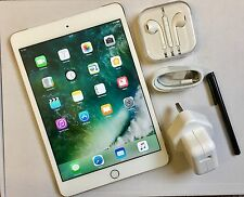 #GRADE A+ # Apple Ipad Mini 3 Retina Display 16 GB Wifi + 4G (EE) Silver +EXTRAS