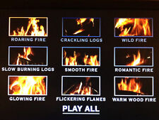Virtual Log Fire on DVD - 9 Fabulous Fires to suit every mood GUARANTEED