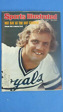 SPORTS ILLUSTRATED-JUNE 21,1976- HOT BAT AT THE HOT CORNER- GEORGE BRETT