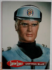 Captain scarlet-individuelle trading card #36, capitaine bleu-imparable cartes