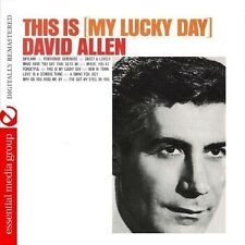 This Is My Lucky Day - David Allen (2013, CD NEUF) CD-R