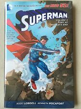 THE NEW 52! SUPERMAN VOL 3 FURY AT WORLD'S END-DC COMICS- HC&SEALED-MSRP $22.99