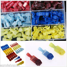 30Set Car Audio Quick Splice Lock Wire Terminals Connectors Electrical Crimp Kit