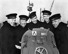 New 8x10 World War II Photo: The Sullivan Brothers, Lost on the USS JUNEAU