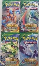 Pokemon TCG XY Roaring Skies Factory Sealed Booster Pack Lot x4 - FREE SHIP