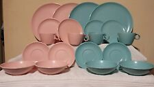 Imperial Ware Melmac Melamine Dinnerware Speckle 20 Pcs 4 Place Setting