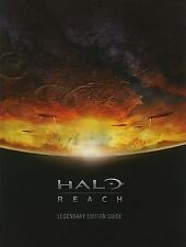 Halo Reach Legendary Edition Players Strategy Guide 479 pages 2010 HB Game Hints