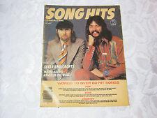 Song hits magazine Seals and Crofts 1976 May 1970's vintage