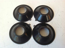 4Pcs Carb Slide Diaphragms Honda Sabre Interceptor Magna V45 VF700 VF750 82-86