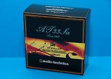 Audio-Technica AT-33SA MC-Tonabnehmer System ''NEU''Originalware vom Händler