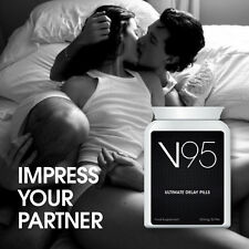 V95 ULTIMATE DELAY PILLS IMPRESS YOUR PARTNER LAST ALL NIGHT LONG PORN STAR SEX