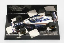 MINICHAMPS WILLIAMS FW16 RENAULT COULTHARD PRESENTATION 1995 LE 1:43