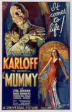 Boris Karloff The Mummy Horror Film Cinema Movie Poster Print Picture A3