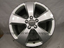 "Original Audi A4 17"" Alloy wheel alloys x1 2014 7.5Jx17H2 ET45 8K0601025 CE #36"