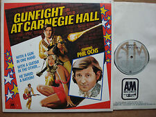PHIL OCHS - Gunfight At Carnegie Hall  LP LIVE 1970  Canada Only  A&M SP-9010