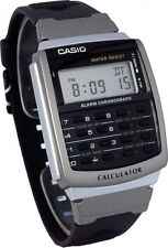 Casio Dual Time Calculator Stopwatch Watch CA-56-1DF.   TOIV