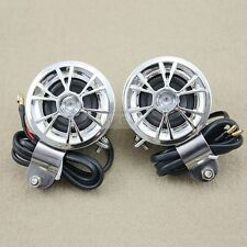 2 x 12V Mini Speakers for AMP/Amplifier Car Motorcycle Radio MP3 iPod