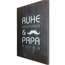 Kunstdruck Acrylglas 5mm Bild Spruch Papa Geschenk Vatertag Hochzeit Geburtstag