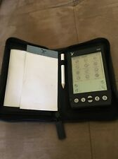 Handspring Visor PDA Palm Pilot Personal Assistant Tested Works w/ Leather Case