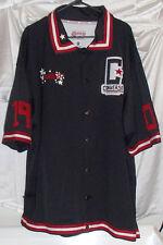 Converse 1908 Throwback Warmup Black Shootaround Sewn Basketball Jersey Mens 3X