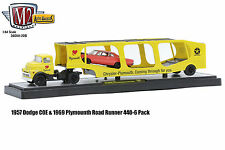 M2 MACHINES 1:64 AUTO-HAULERS 36000-20B 1957 DODGE COE & PLYMOUTH ROAD RUNNER