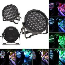 DJ PAR 54 LED Light 8CH RGBW PAR 64 DMX512 DJ Stage Party Show Wedding US