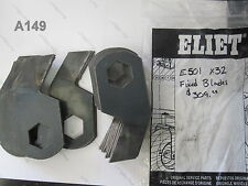 ELIET E501 Scarifier OEM Spare Fixed Blades (Set of 32) Free USA Shipping