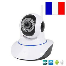 Camera de Surveillance IP Motorisée WiFi HD Sans Fil Infrarouge iPhone Android