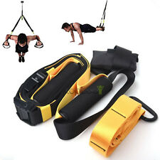 Trainer STRAP PRO Suspension Body Fitness  Resistance Home Gym Strap Band