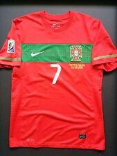 PORTUGAL Seleção CRISTIANO RONALDO WORLD CUP 2010 MATCH WORN SHIRT MATCHWORN