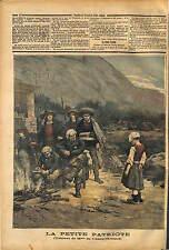 PROPAGANDE RÉPUBLICAINE ANTI-CHOUAN VENDÉE CARICATURE 1891