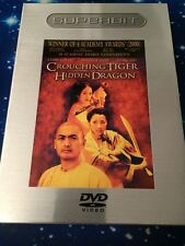 Crouching Tiger, Hidden Dragon (DVD, 2001, The Superbit Collection) WORLD SHIP