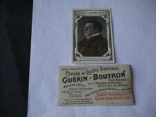 CHROMO PUBLICITAIRE CHOCOLAT GUERIN-BOUTRON  N°362 ANTOINE DIRECTEUR DE L'ODEON