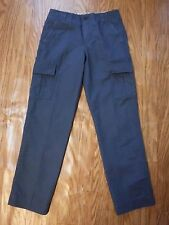 Brooks Brothers Navy Blue Flat Front Cargo Pants Men W31XL32 *NWTD*