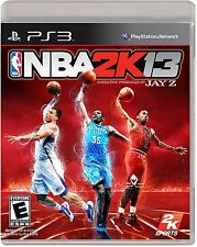 SONY PlayStation 3 PS3 NBA 2K13 2013 (NO GAME MANUAL)