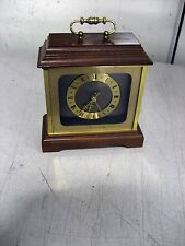 Used Hamilton Mantle Clock, Quartz, Made in Germany, 6.25 x 5.75 x 7, w/warranty