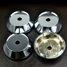 65mm × 4PC Sliver Car Wheel Center Hub Tyre Alloy Caps Cover