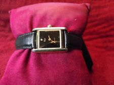 Risa Leather Band Women's Watch. Runs Great - I 150