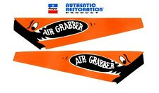 1970 71 1972 Plymouth Road Runner GTX AIR GRABBER Reflective Decals NEW MoPar