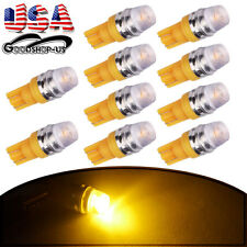 10X Amber Yellow High Power T10 Wedge 5730 Samsung LED Lights Bulbs 192 168 1W