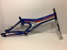 1999 Specialized Hemi Fatboy BMX Bicycle Frame & Fork Blue Chrome Old School
