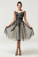 Short Formal Cocktail Prom Dress Gowns Evening Party Graduation Homecoming Dress