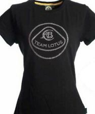 T-SHIRT Formula One 1 Team Lotus F1 NEW! Ladies Studded Crest Black M