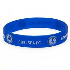 Chelsea Fc Silicone Wristband Blue Football Club Crest Bracelet Supporter New